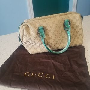 💯 Authentic Vintage Gucci Bag